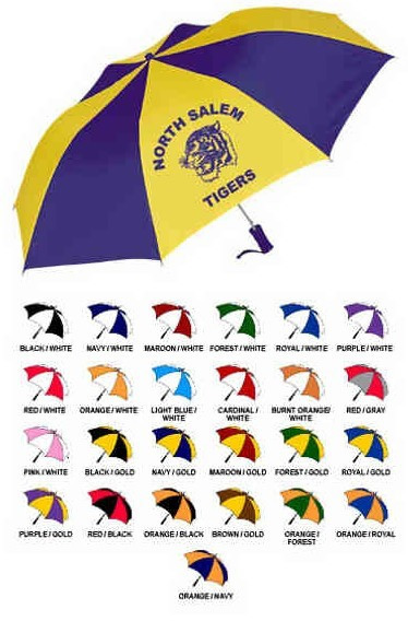 48 sporty automatic folding umbrella