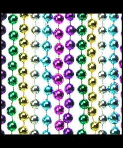 7mm Beads 33 Metallic 6-Color