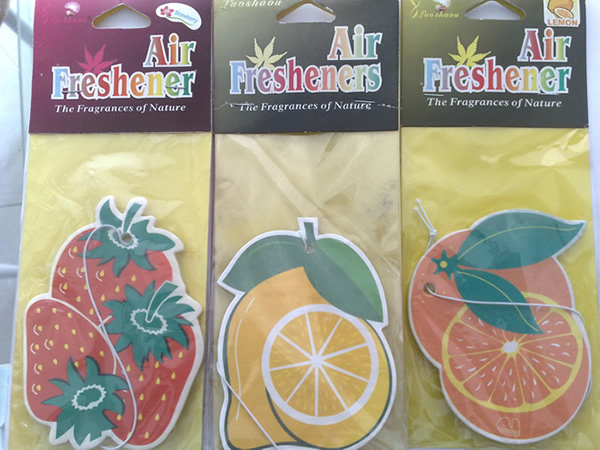Customized Paper Car Air Freshener