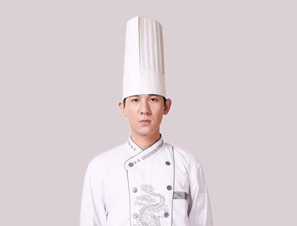 Flat top chef hat