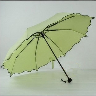 Flower shaped umbrella