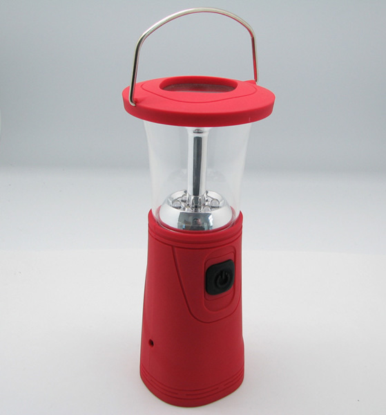 Hand power generation camping light