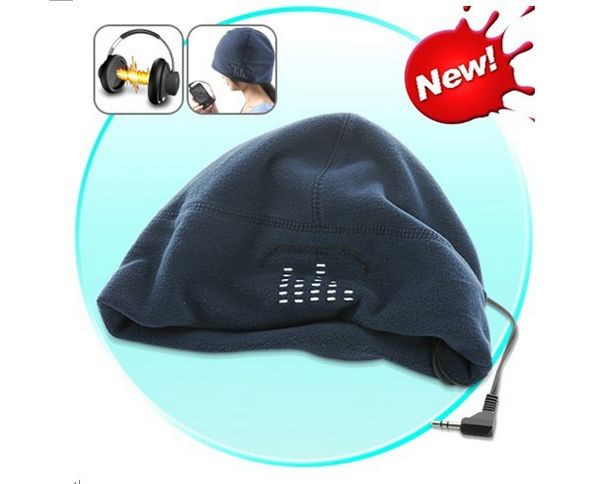 Headphone music hat