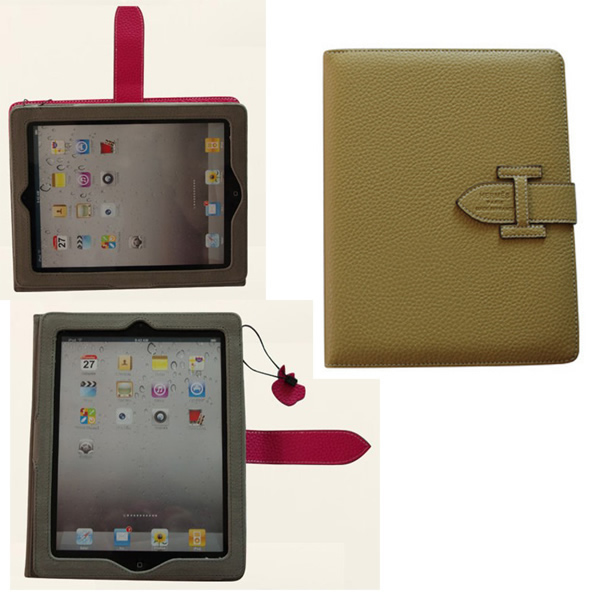 Leather iPad 2 case for custom making.