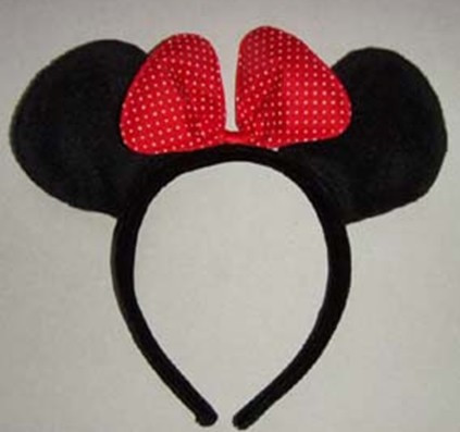 Mickey ears headband