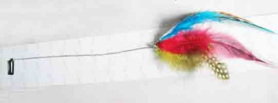 Multicolor Feather Hair Clips