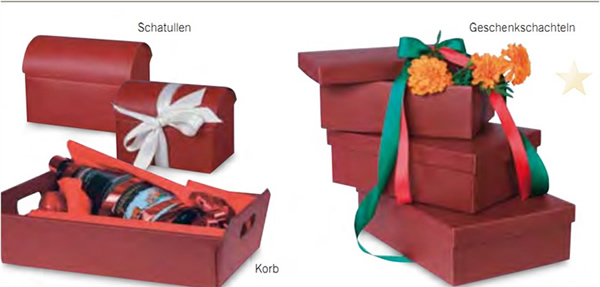 Tinted recycled gift box