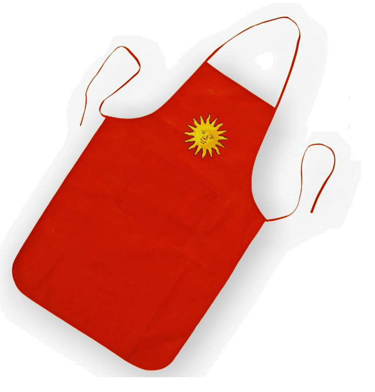 Non Woven Apron With Pouch