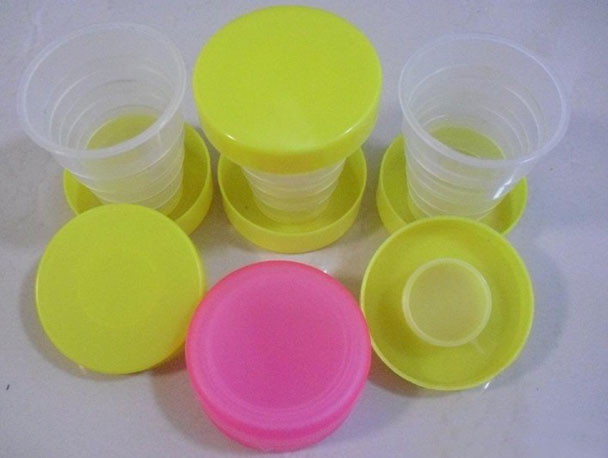 Pocketable Plastic Collapsible Water Cup