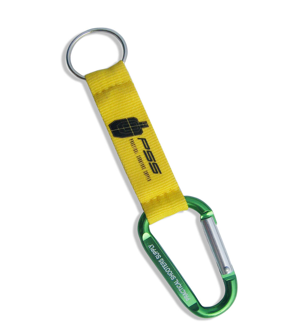 Promotional Carabiner Hook Short Strap
