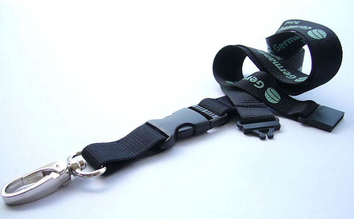 Silk Screen Custom Logo Lanyard