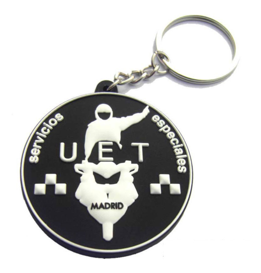 Soft PVC/Rubber Keychain