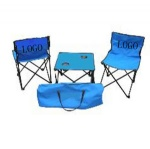 Beach chair, outdoor table and chair