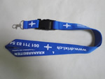 Adjustable Polyester Lanyard