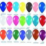 Celebration latex balloon for 2.3 grams with custom imprint