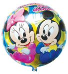 Circle Shape Foil Balloon