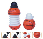 Collapsible Basketball Shaped Plastic Bottles