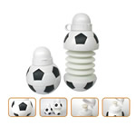 Collapsible Soccer Shaped Plastic Bottles