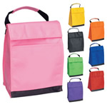 Colored nonwoven bag