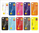Credit Card Design Phone Covers