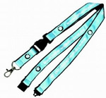Double Layer Satin Lanyard