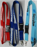 Dye Sublimation Lanyard 3/4 with plastic buckle