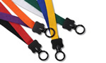 Elegant Two-Color Cotton Lanyard