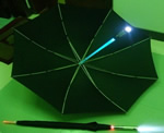 LED flashing umbrella with popular design