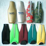 Personalized neoprene drink bottle cooler