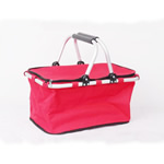 Portable Folding Shopping and Picnic Basket