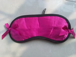 Satin eyeshade