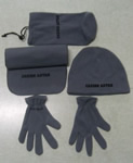 Scarf hat glove kit
