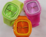 Silicone Gel Watch