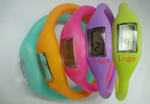 Silicone Sporty Digital Wristband Watch