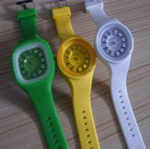 Silicone jelly watches for london olympic game