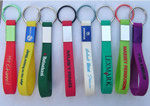 Silicone key ring