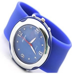 Silicone slap bracelet watch for 2012 London Olympic Game