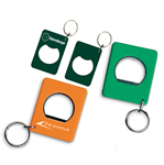 Bottle Opener With Keychain
