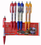 Colored Clip Banner Message Pen