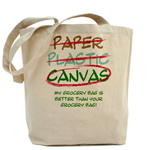Cotton Canvas 8 Oz. Tote Bag