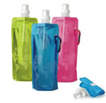Custom Logo Plastic Collapsible Water Bottle