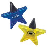 Custom Logo Star Shape Memo Holder Magnet
