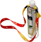 Heat Transfer Water Bottle Lanyard
