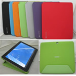 iPad PU case for custom imprint.