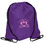 Imprint Polyester Drawstring Bag