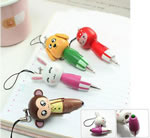 Wooden Cartoon Drawing Pen/keychian